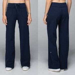 Lululemon Relaxed Fit Still Yoga Pant Inkwell Navy
